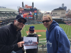 Ben attended Detroit Tigers vs. Pittsburgh Pirates - MLB - Opening Day on Mar 29th 2018 via VetTix