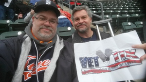 Patrick Craig attended Detroit Tigers vs. Pittsburgh Pirates - MLB - Opening Day on Mar 29th 2018 via VetTix