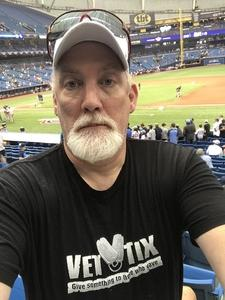 Kevin attended Miami Marlins vs. Chicago Cubs - MLB - Marlins Home Opener on Mar 29th 2018 via VetTix