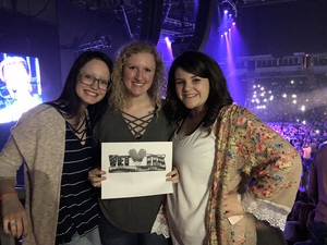 Joshua attended Brad Paisley - Weekend Warrior World Tour With Dustin Lynch, Chase Bryant and Lindsay Ell on Apr 12th 2018 via VetTix