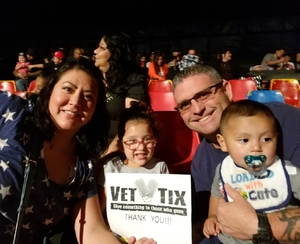 Robby attended Circus Vargus - Ontario Opening Night on Apr 5th 2018 via VetTix