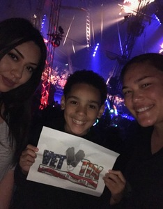 brittanie attended Circus Vargus - Ontario Opening Night on Apr 5th 2018 via VetTix