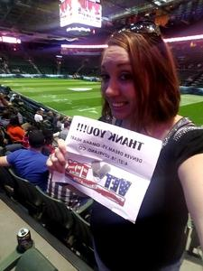 Heather attended Denver Dream vs. Omaha Heart - Legends Football League - Women of the Gridiron on Apr 27th 2018 via VetTix