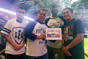 Frank attended Denver Dream vs. Omaha Heart - Legends Football League - Women of the Gridiron on Apr 27th 2018 via VetTix