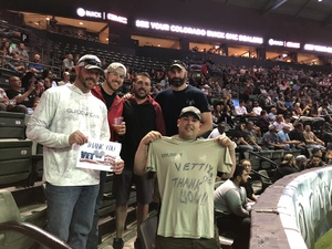 Adam attended Denver Dream vs. Omaha Heart - Legends Football League - Women of the Gridiron on Apr 27th 2018 via VetTix
