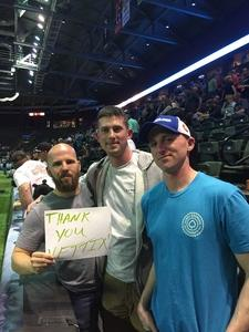 Travis attended Denver Dream vs. Omaha Heart - Legends Football League - Women of the Gridiron on Apr 27th 2018 via VetTix