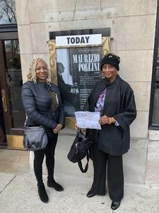 Sandra attended Maurizio Pollini - Solo Piano Recital - Presented by the Chicago Symphony Orchestra on Apr 22nd 2018 via VetTix