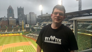 Edward attended Pittsburgh Pirates vs. Cincinnati Reds - MLB on Apr 6th 2018 via VetTix