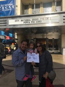 Click To Read More Feedback from Peppa Pig Live - Surprise