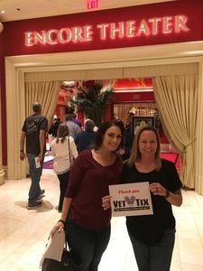 Amanda attended Jewel: Hits, Muses and Mentors on Mar 30th 2018 via VetTix