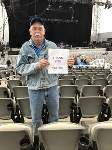 Raymond attended Dwight Yoakam and Guests on Apr 8th 2018 via VetTix