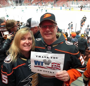 Click To Read More Feedback from Anaheim Ducks vs. Minnesota Wild - NHL - Antis Roofing Community Corner!
