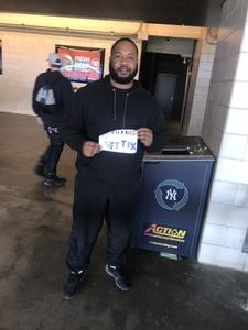 Ricardo attended New York Yankees vs. Baltimore Orioles - MLB on Apr 7th 2018 via VetTix