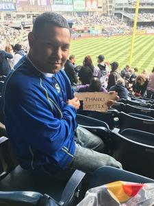 Adam attended New York Yankees vs. Baltimore Orioles - MLB on Apr 7th 2018 via VetTix