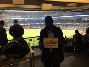 Anthony attended New York Yankees vs. Baltimore Orioles - MLB on Apr 7th 2018 via VetTix