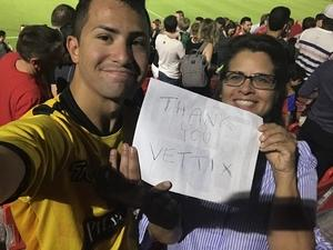 RoseAnne Marquez attended Phoenix Rising FC vs. Real Monarchs SLC - USL on Apr 7th 2018 via VetTix
