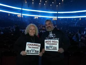 Ramona attended Bon Jovi - This House is not for Sale Tour - Sunday Night on Apr 8th 2018 via VetTix