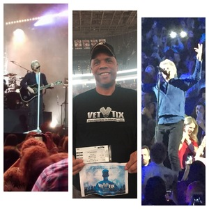 JOE-LEE attended Bon Jovi - This House is not for Sale Tour - Sunday Night on Apr 8th 2018 via VetTix