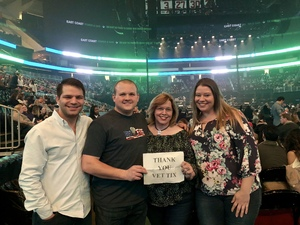 Tyler attended Bon Jovi - This House is not for Sale Tour - Sunday Night on Apr 8th 2018 via VetTix
