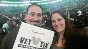 Jarrod attended Bon Jovi - This House is not for Sale Tour - Sunday Night on Apr 8th 2018 via VetTix