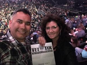 NavyNevin attended Brad Paisley - Weekend Warrior World Tour With Dustin Lynch, Chase Bryant and Lindsay Ell on Apr 7th 2018 via VetTix