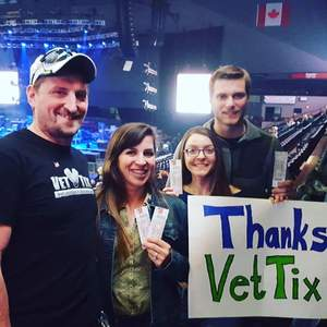Bryan Shadley attended Brad Paisley - Weekend Warrior World Tour With Dustin Lynch, Chase Bryant and Lindsay Ell on Apr 7th 2018 via VetTix