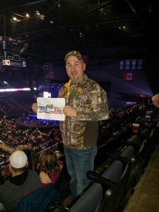 david attended Brad Paisley - Weekend Warrior World Tour With Dustin Lynch, Chase Bryant and Lindsay Ell on Apr 7th 2018 via VetTix