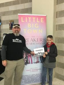 Kevin attended Little Big Town - the Breakers Tour With Kacey Musgraves and Midland on Apr 7th 2018 via VetTix