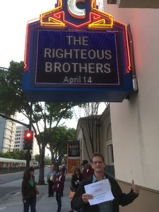 John Ruscher attended The Righteous Brothers on Apr 14th 2018 via VetTix