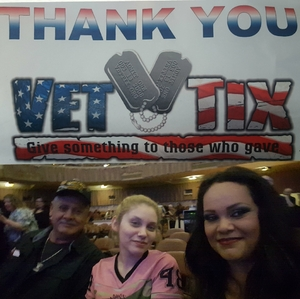 Rodolfo attended The Righteous Brothers on Apr 14th 2018 via VetTix