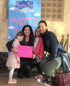 Sara attended Peppa Pig Live - Surprise on Apr 10th 2018 via VetTix