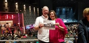 Ronald attended Brad Paisley Weekend Warrior World Tour Standing and Lawn Seats Only on Apr 13th 2018 via VetTix