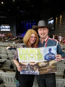 Richard Jansa attended Brad Paisley Weekend Warrior World Tour Standing and Lawn Seats Only on Apr 13th 2018 via VetTix