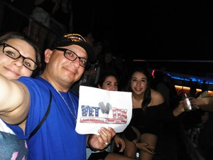 Frank attended Brad Paisley Weekend Warrior World Tour Standing and Lawn Seats Only on Apr 13th 2018 via VetTix