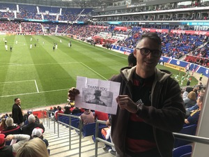 Rommell attended New York Red Bulls vs. Chicago Fire - MLS on Apr 21st 2018 via VetTix