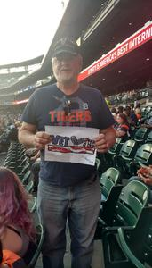 Larry attended Detroit Tigers vs. Tampa Bay Rays - MLB on May 1st 2018 via VetTix