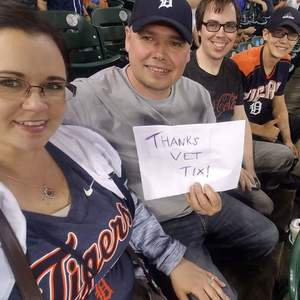 Darryl attended Detroit Tigers vs. Tampa Bay Rays - MLB on May 1st 2018 via VetTix
