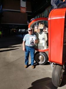 Robert Van Deusen attended Detroit Tigers vs. Tampa Bay Rays - MLB on May 1st 2018 via VetTix