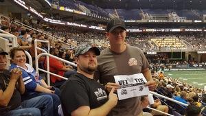 Stephen attended Arizona Rattlers vs. Green Bay Blizzard - IFL on Apr 21st 2018 via VetTix