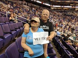 Leslie attended Arizona Rattlers vs. Green Bay Blizzard - IFL on Apr 21st 2018 via VetTix