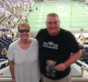 Eddie attended Arizona Rattlers vs. Green Bay Blizzard - IFL on Apr 21st 2018 via VetTix