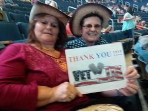 Patricia attended Little Big Town - the Breakers Tour With Kacey Musgraves and Midland on Apr 21st 2018 via VetTix