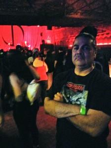 Salvador attended Jonathan Davis of Korn on Apr 13th 2018 via VetTix