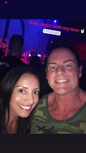 David attended Jonathan Davis of Korn on Apr 13th 2018 via VetTix
