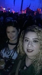 Yadira M. attended Jonathan Davis of Korn on Apr 13th 2018 via VetTix
