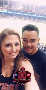 Taryn attended Arizona Diamondbacks vs. San Francisco Giants on Apr 17th 2018 via VetTix