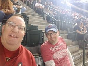 Steven attended Arizona Diamondbacks vs. San Francisco Giants on Apr 17th 2018 via VetTix