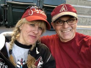 Edward attended Arizona Diamondbacks vs. San Francisco Giants on Apr 17th 2018 via VetTix
