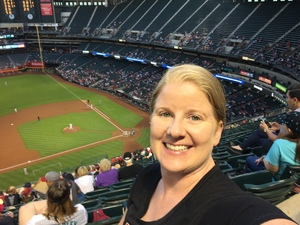 Faith attended Arizona Diamondbacks vs. San Francisco Giants on Apr 18th 2018 via VetTix