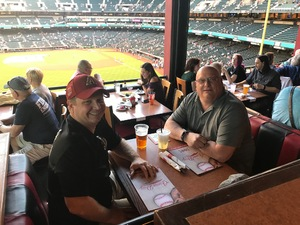 Christopher attended Arizona Diamondbacks vs. San Francisco Giants on Apr 18th 2018 via VetTix